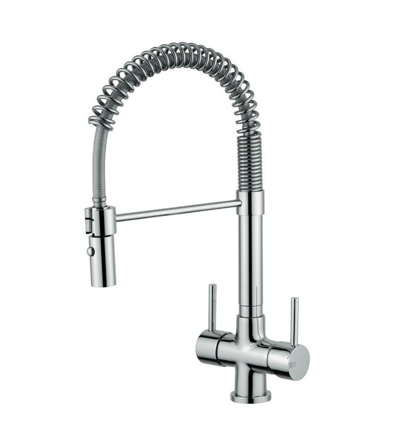 Kitchen sink mixer for...