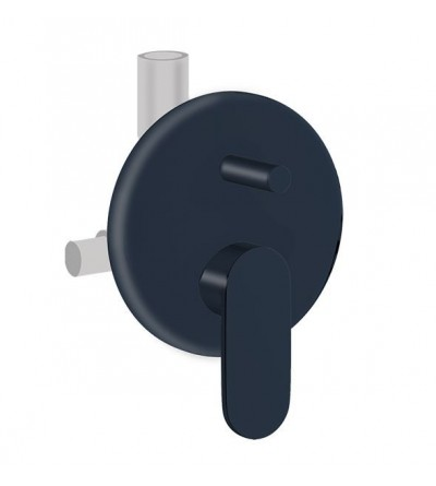 Single-lever built-in 2-way shower mixer Ponsi Versilia BTVERKIN06