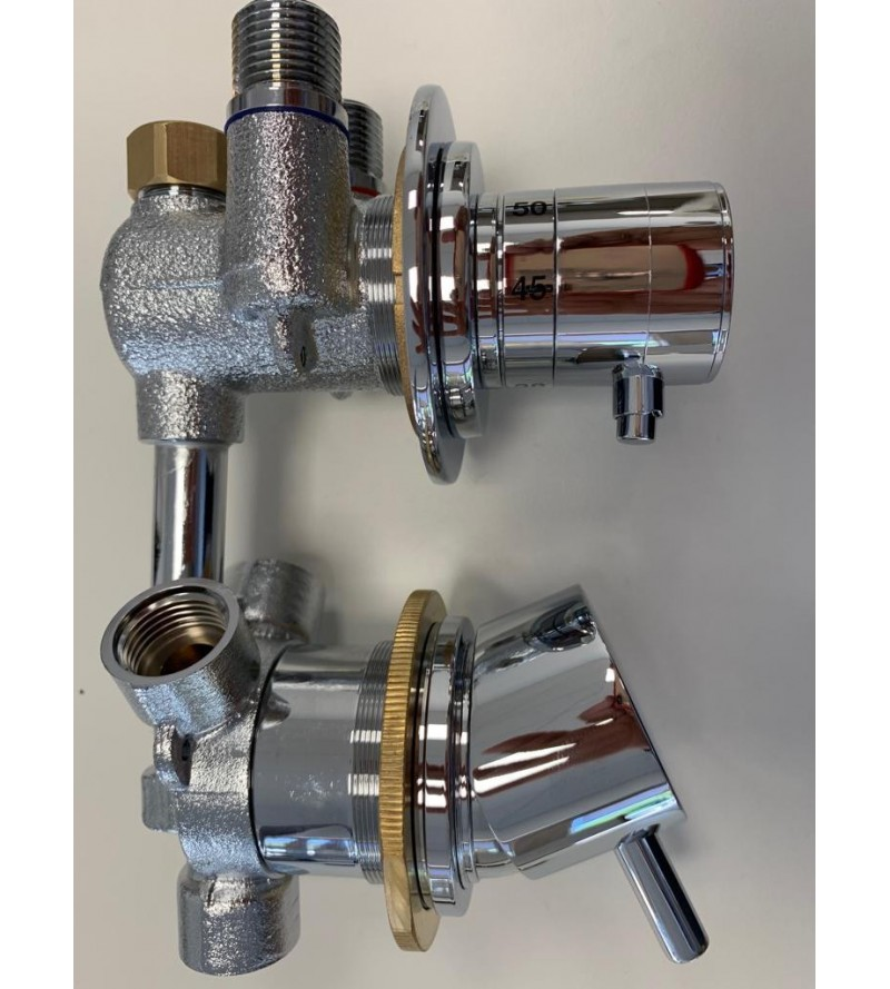 3-way thermostatic spare...