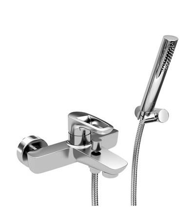 Mezclador de baño externo con set de ducha Piralla Armonia 0RM00003A16