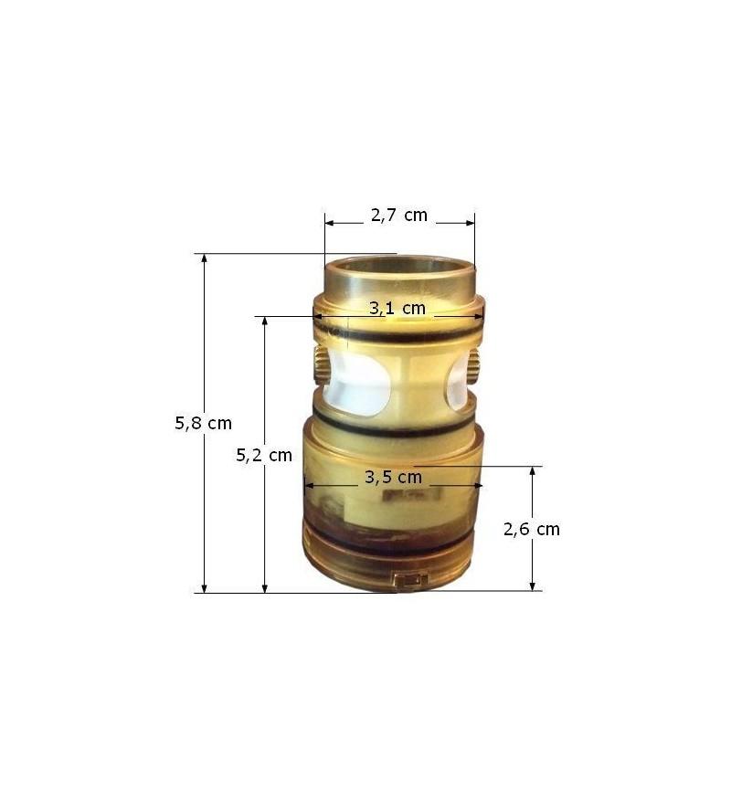 Fabricado en Italia Resistencia de encendido estufas de pellets con conexi/ón 3//8 W270