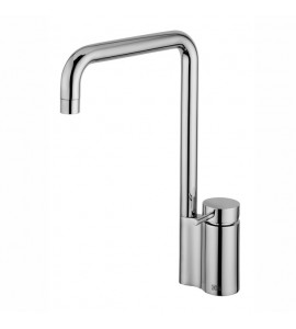 Kitchen sink mixer with swivel spout Quadrodesign 95