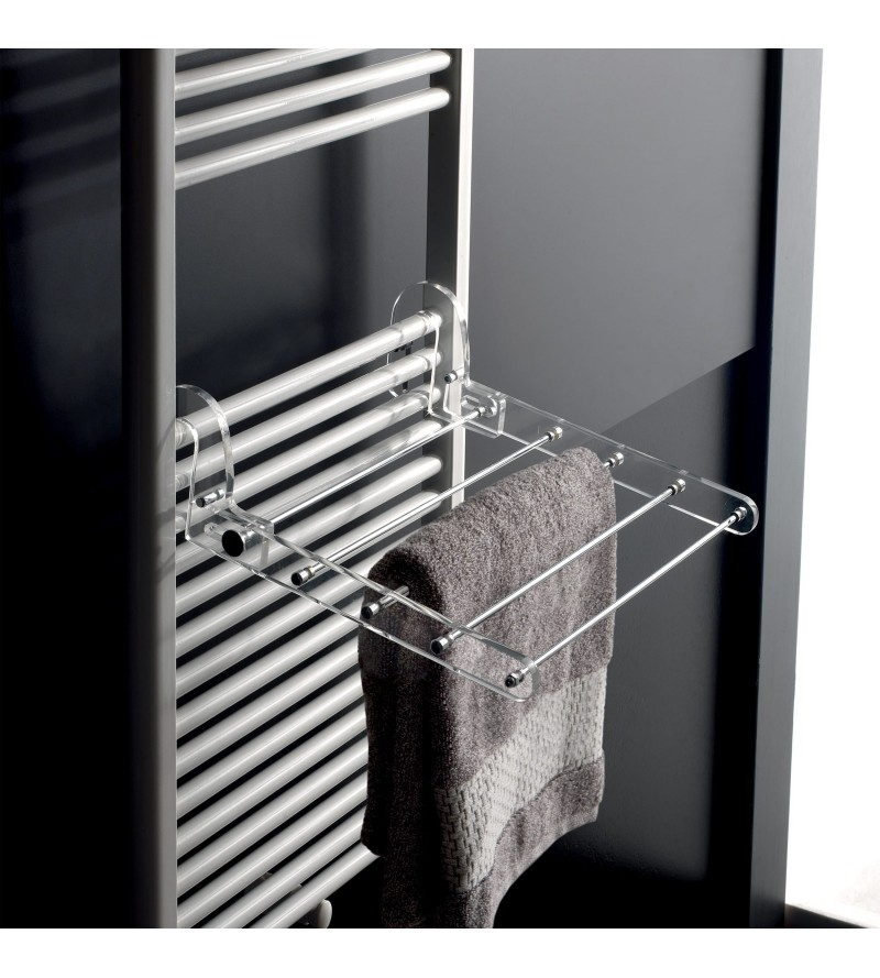 Clothesline from radiator...