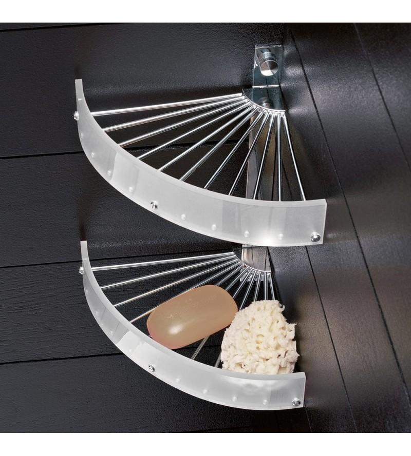 Corner shelf for shower 2...