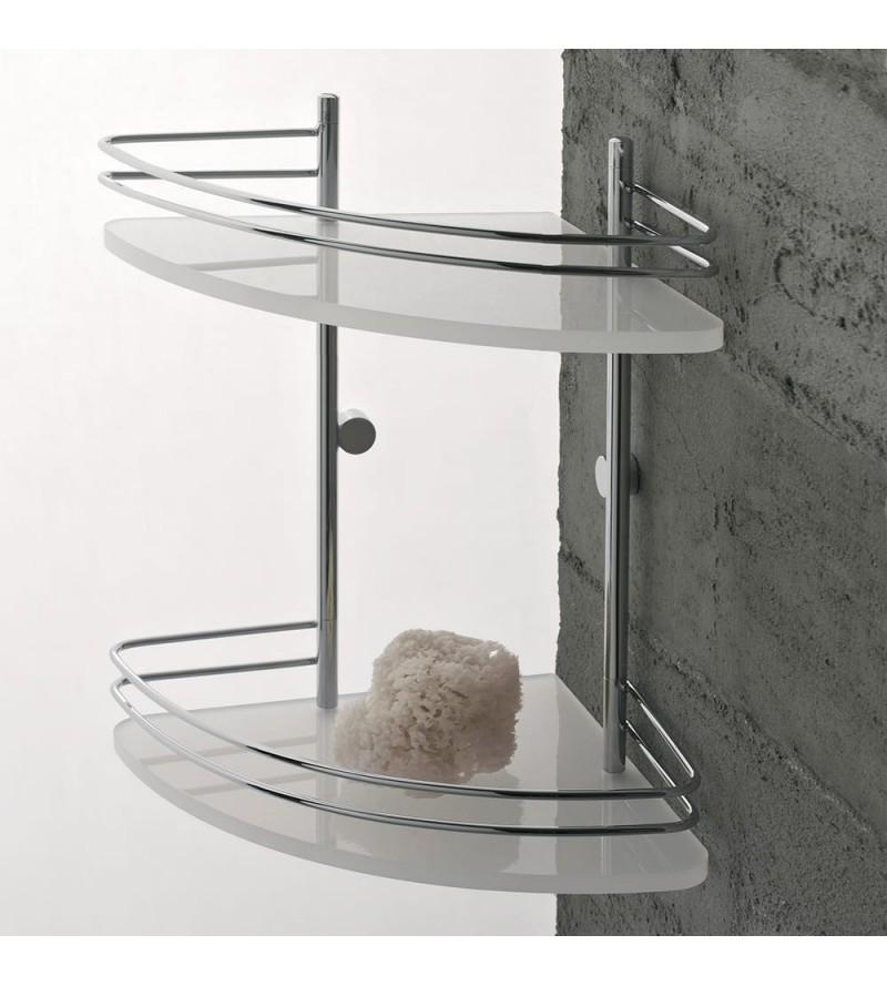 2 shelves corner shelf for...