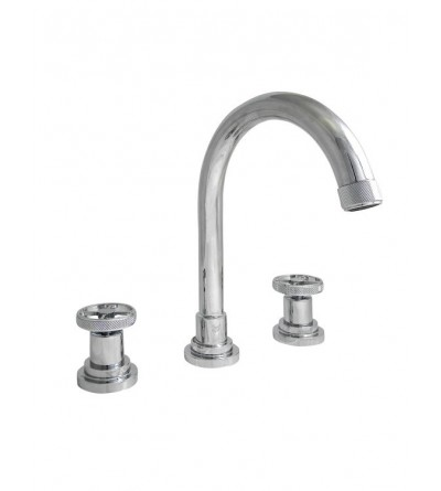 Three-holes wash basin mixer Officina Nicolazzi Arena 3308