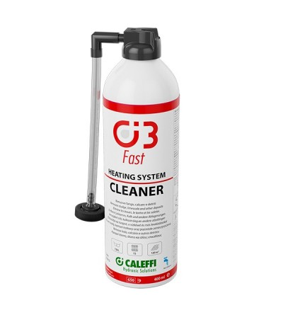 It removes sludge, limescale Caleffi C3 FAST CLEANER