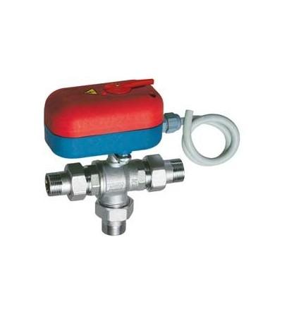 3-way mixing zone control ball valve FAR 301020
