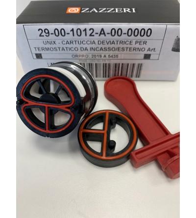 Cartuccia deviatrice per miscelatori termostatici Zazzeri 29001012