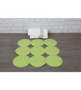 Grüne Duscheinlage Anti Rutsch Matte Duschmatte Sicherheitseinlage für die Duschwanne Giotto