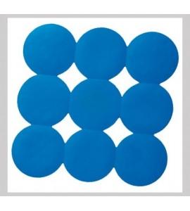 blau Duscheinlage Anti Rutsch Matte Duschmatte Sicherheitseinlage für die Duschwanne Giotto