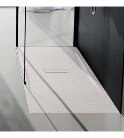 Shower tray 3.5 cm matt white Novellini Custom Touch