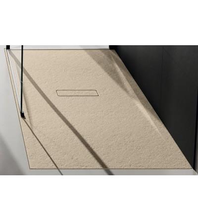 Shower tray 3.5 cm Beige Novellini Custom Touch