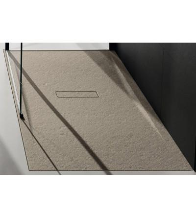 Piatto doccia 3.5 cm colore Corda Novellini Custom Touch