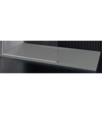 Shower tray 3.5 cm Grey Novellini Custom Touch