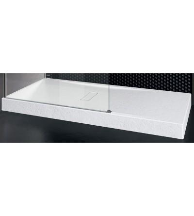 Piatto doccia 12 cm bianco opaco Novellini Custom touch