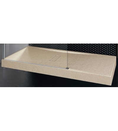 Piatto doccia 12 cm beige Novellini Custom touch