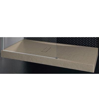 Piatto doccia 12 cm corda Novellini Custom touch