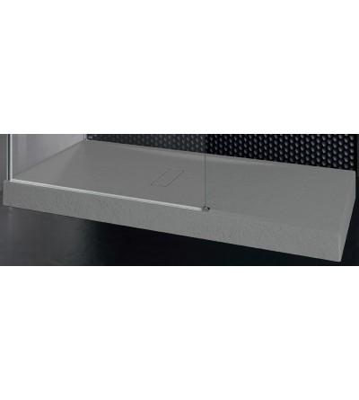 Piatto doccia 12 cm grey Novellini Custom touch
