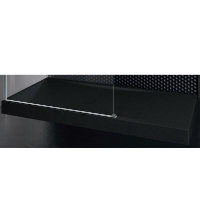 Shower tray 12 cm matt black Novellini Custom touch
