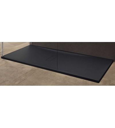 Shower tray acrylic matt black Novellini Custom
