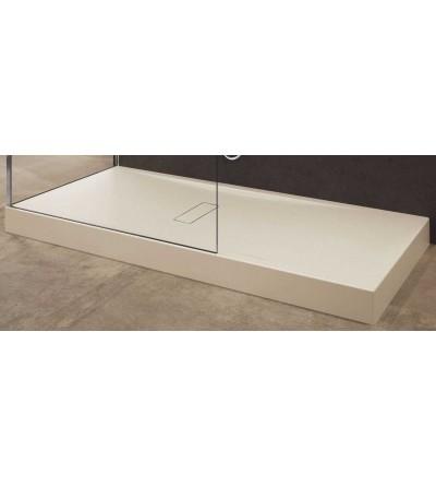Piatto doccia in acrilico 12 cm beige Novellini Custom