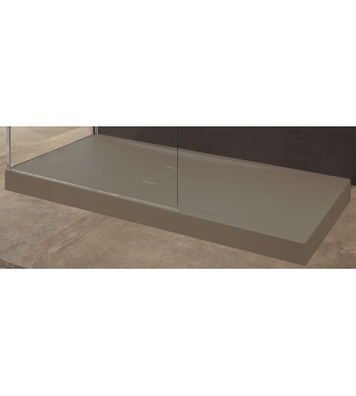 Acryl Duschwanne 12 cm Seilfarbe Novellini Custom