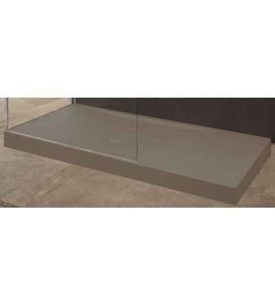 Acrylic shower tray 12 cm rope color Novellini Custom