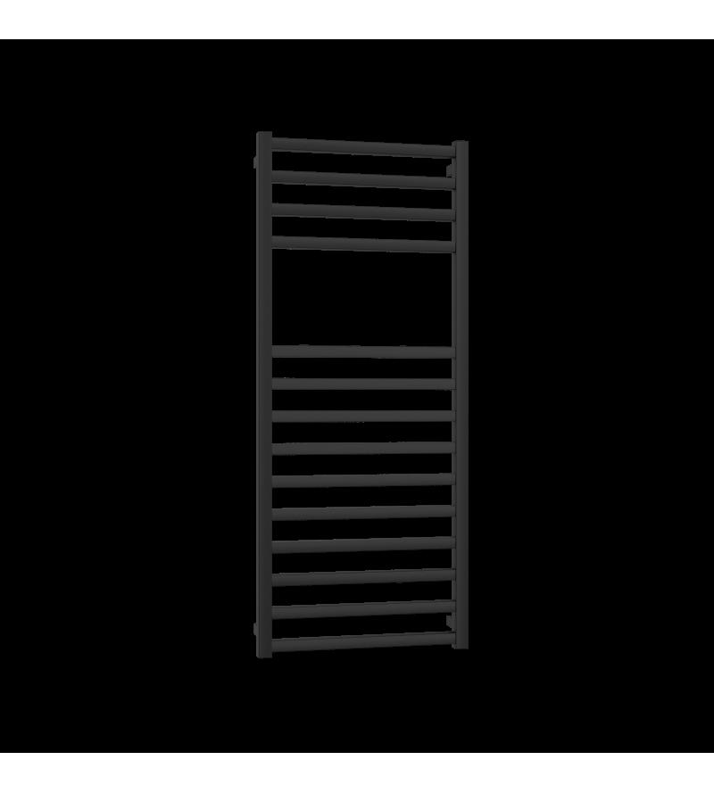 Matt black towel radiator...