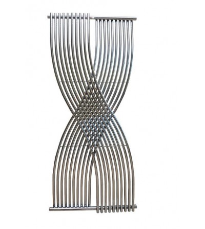 Double chrome designer radiator Ercos Gemini
