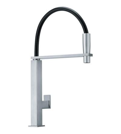 Centinox satin steel kitchen mixer tap