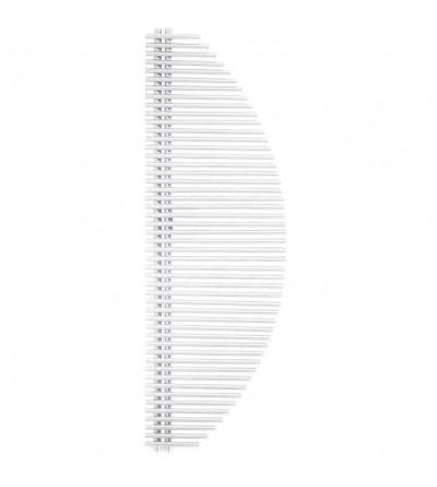 Raditore termoarredo idraulico colore bianco Ercos Vela