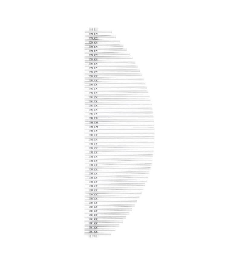 White heated towel radiator bianco Ercos Vela