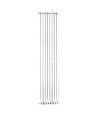 White steel decorative radiator Ercos Orion