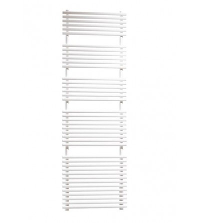White hydraulic towel warmer Ercos Pop