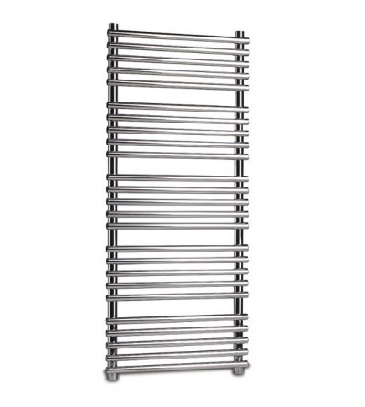 Chrome hydraulic towel warmer Ercos Pop