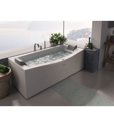 bathtub with double seat hydromassage Jacuzzi Invita