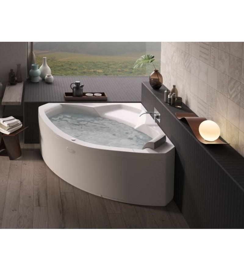 Corner bath with whirlpool...