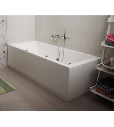 Rectangular whirlpool bathtub Jacuzzi Silk