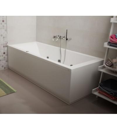 Vasca da bagno idromassaggio rettangolare Jacuzzi Silk