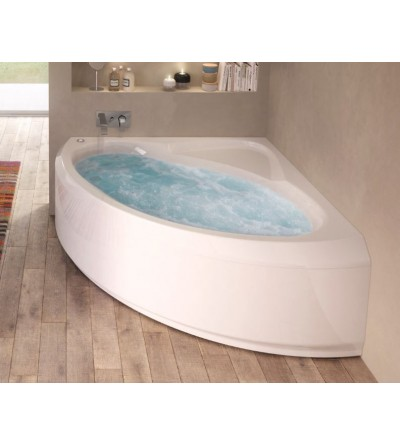 Corner bathtub with whirlpool 140 x 140 cm Jacuzzi Project