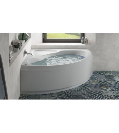 Corner bathtub with whirlpool 150 x 150 cm Jacuzzi Project