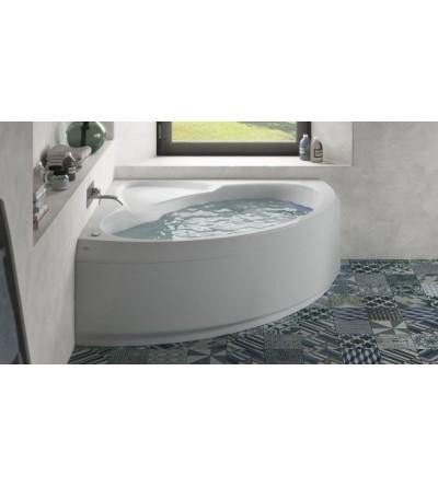 Vasca da bagno angolare con idromassaggio 150 x 150 cm Jacuzzi Project