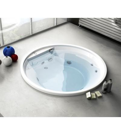 Vasca da bagno tonda da incasso Jacuzzi Project Round