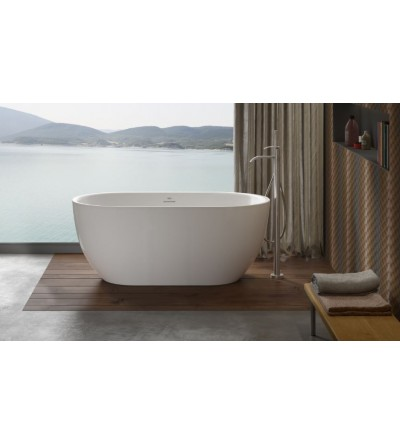 Freestanding bathtub without whirlpool Jacuzzi Chic