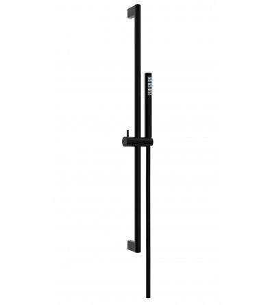 Sliding rail for shower matt black Ponsi BNASTKAS41