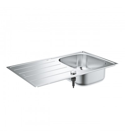 Stainless steel sink with drainer Grohe K200 - 31552SD1