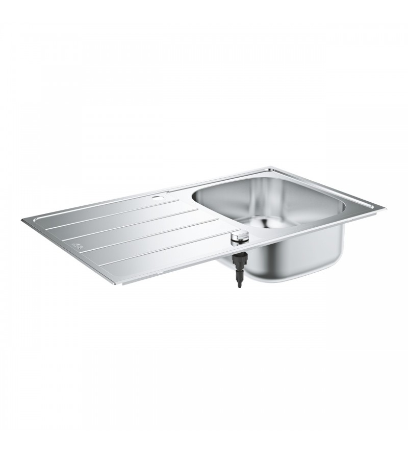 Stainless steel sink with...