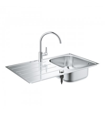 Kitchen sink complete with mixer Grohe K200 - 31562SD1