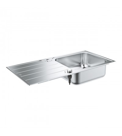 1 bowl stainless steel sink Grohe K500 - 31563SD1